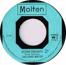 Cheyenne Winter -- Second Thoughts / Sit Awhile - 7