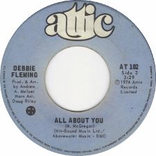 Debbie Fleming - Long Gone / All About You - 7