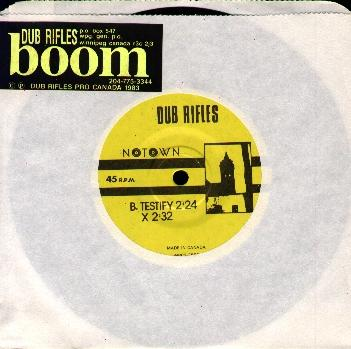 The Dub Rifles -- The Boom EP - 7