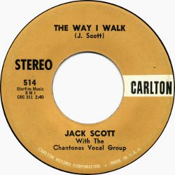 Jack Scott - The Way I Walk / Midgie - 7