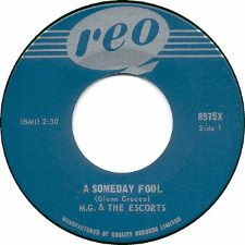 M.G. and the Escorts - A Someday Fool / It's Too Late - 7
