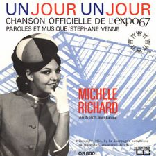 Michele Richard - Un Jour, Un Jour / Hey Friend, Say Friend - 7