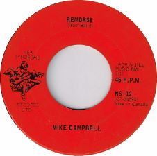 Mike Campbell - Remorse / One Girl - 7