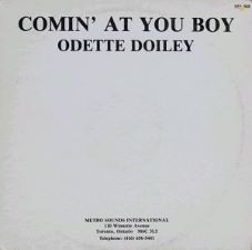 Odette Doiley -- Comin' at You Boy / Comin' at You Boy (instrumental) - 12