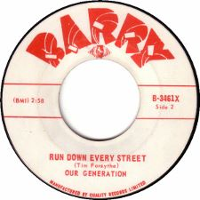 Our Generation -- I'm a Man / Run Down Every Street - 7