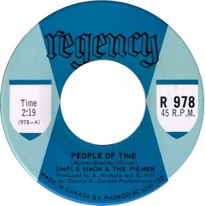 Simple Simon and the Piemen -- People of Time / Anyhow - 7