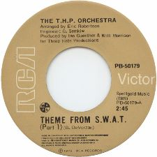 T.H.P. Orchestra -- Theme from S.W.A.T. (Part 1) / Theme from S.W.A.T. (Part 2) - 7