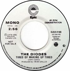 The Diodes - Tired of Waking Up Tired / Child Star - 7