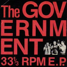 The Government -- 33 1/3 EP (Flat Tire + 3) - 7