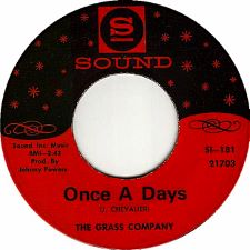 The Grass Company -- Once a Days / Once a Child - 7