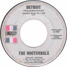 The Nocturnals -- Do What You Want / Detroit - 7