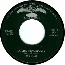 The Shags -- Smiling Fenceposts / Dr. Feel-Good - 7