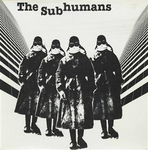 The Subhumans -- The Subhumans EP - 12